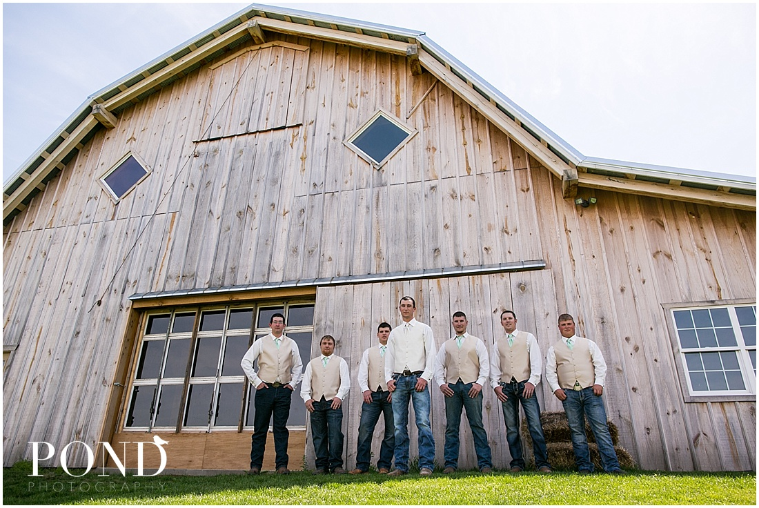 THE BARN at Schwinn Produce Farm Drew Caitlin Wedding